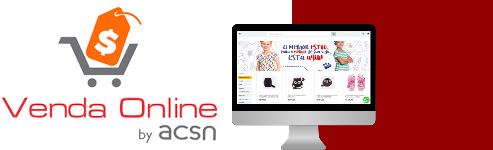 venda online vitrine virtual